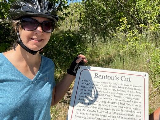 May 31 Bicycle Ride K&P Trail(2)